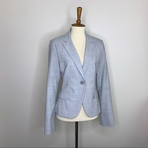 Express gray long sleeve suit blazer size 4